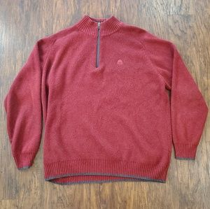 ✔ Nike ACG Quarter Zip Red Men's Sweater